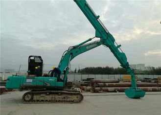 Construction Equipment Telescoping Stick , Long Reach Arm Boom For Excavators