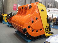 China 8 Cubic Meter Excavator Rock Bucket With Hardox 500 Wearable Steel For EX1800 factory