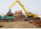 China Excavator Rotating Hydraulic Orange Peel Grab Scrap Grapple For Material Handler company