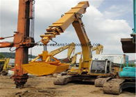 China EX250 Backhoe Clamshell Bucket , Ground Digging Excavator Rotating Bucket factory