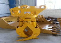 China CAT / PC / SK / EX Excavator Rotating Grapple Mini Digger Log Grab High Durability company