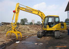 China Material Handling Excavator Rotating Grapple Mini Digger Attachments Easy Operate factory