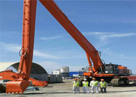 30 Meters Excavator hitachi EX1100 EX3600 Long reach Boom and stick For Sea Port and off shore barge Construction