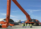 30 Meters Long Reach Excavator hitachi EX1100 Boom and stick Sea Port Construction For Hitachi EX870
