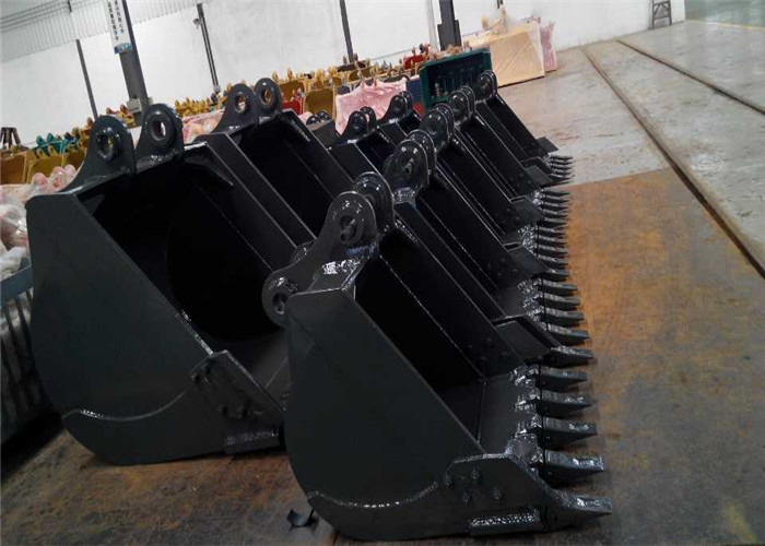 High Performance Excavator Digging Bucket Wear Resistant Q345+Hardox550 Material