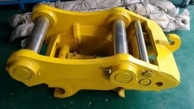 Q345 Steel Excavator Quick Coupler , Hydraulic Quick Hitch For Mini Excavator