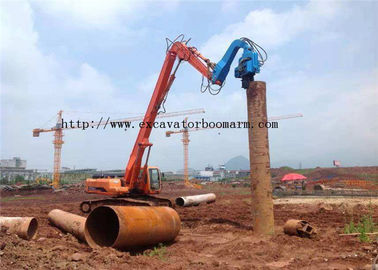 China 40-45 TON Excavator Vibro Hammer For Sheet Pile Driving 360 degrees rotatory factory