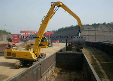Mechanical Clamshell Grab Bucket Excavator Spare Parst For Material Handler Machine