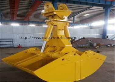 China Rotating Clamshell Grab Bucket For Volvo 360 Excavator 1.8 Ton Grab Weight factory