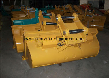 High Strength Excavator Tilt Bucket With Normally Two Cylinder 80-2200mm Width