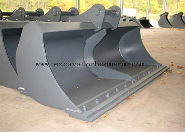 600-2200mm Width Ditch Cleaning Buckets Excavator Mud Bucket Wear Resistance