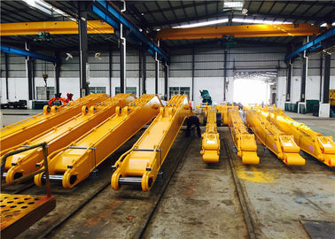 China Dredging River / Demolition Long Reach Arm Boom For Excavators CE Approval factory